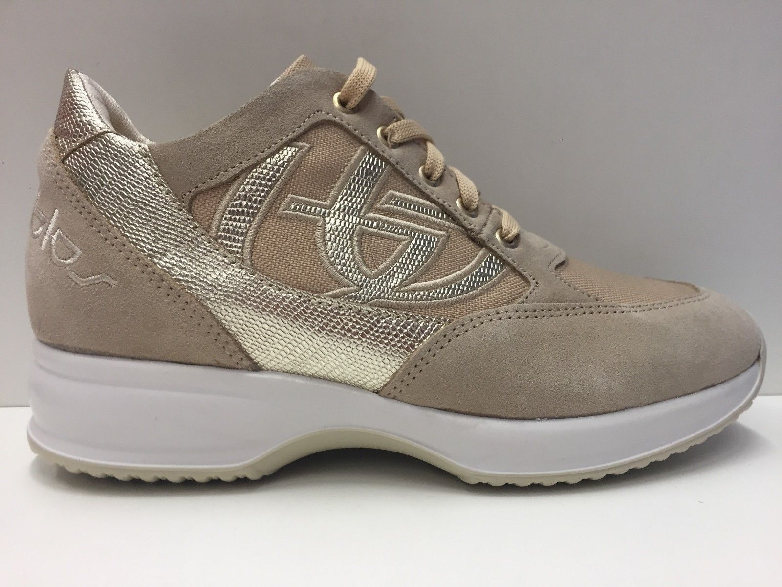 reputable site 5f735 111be SCARPE CASUAL SNEAKERS DONNA BYBLOS ORIGINALE BYACTIVE 652002007 PELLE P/E  NUOVO