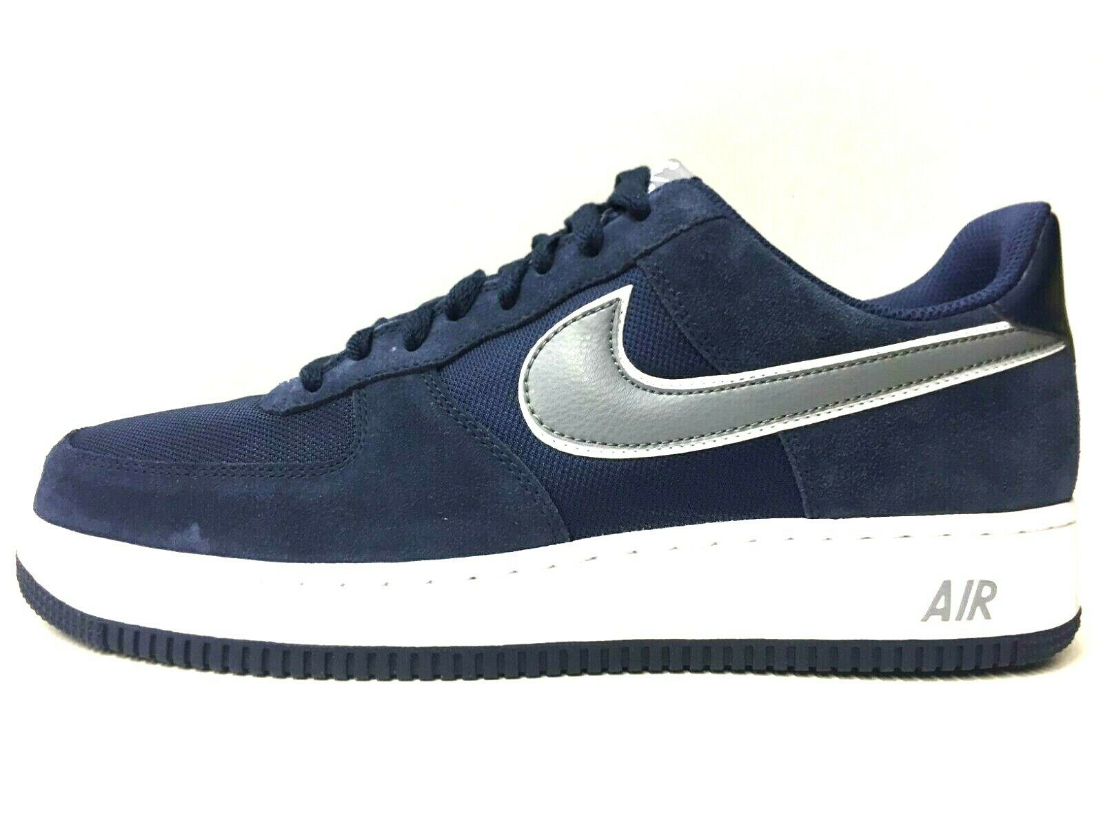 SCARPE SNEAKERS UOMO NIKE ORIGINALE AIR FORCE 1 488298 PELLE P/E NUOVO