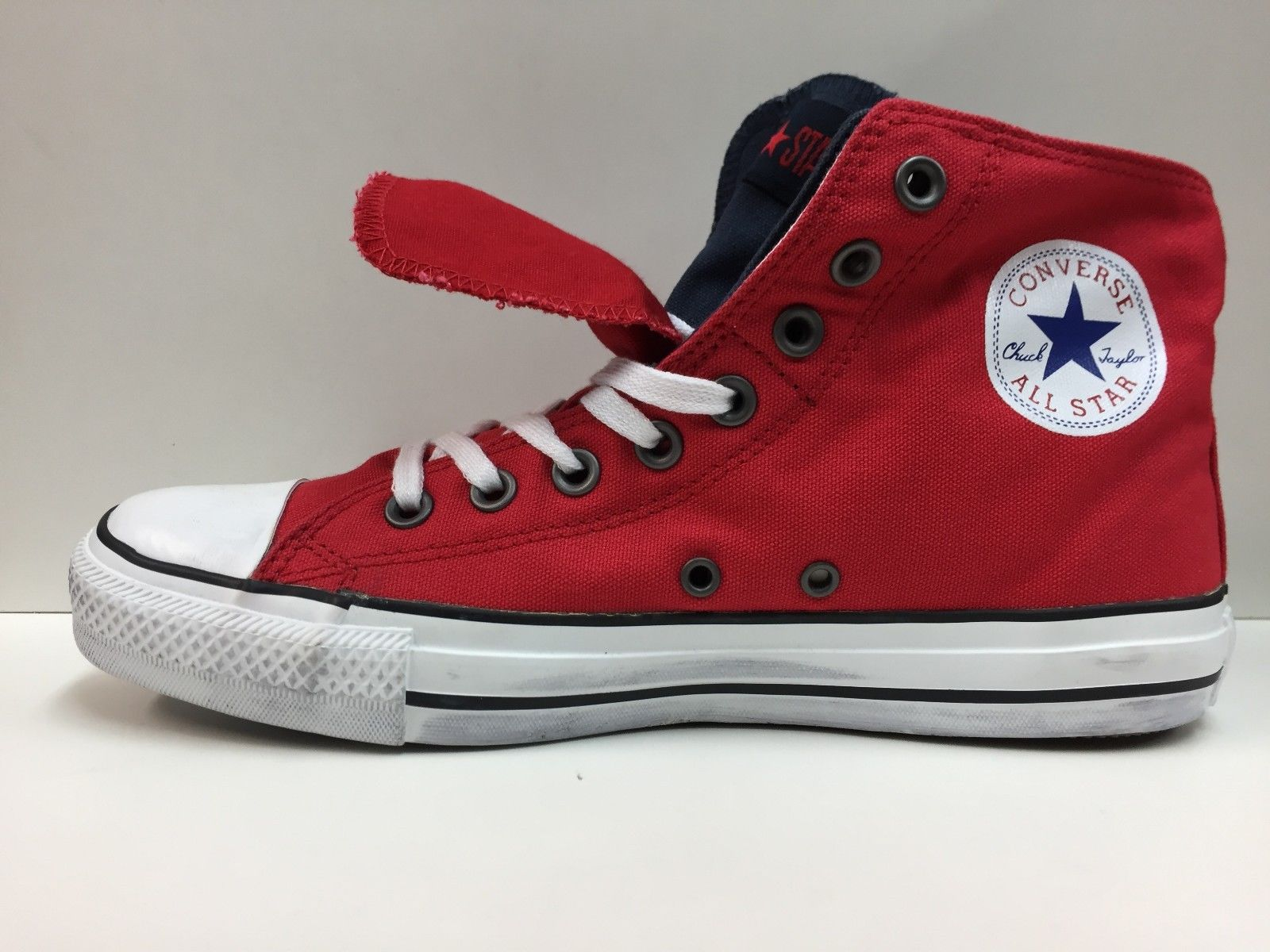 SCARPE SNEAKERS DONNA CONVERSE ALL STAR ORIGINALE CT TWOFOLD 123218 SHOES NEW