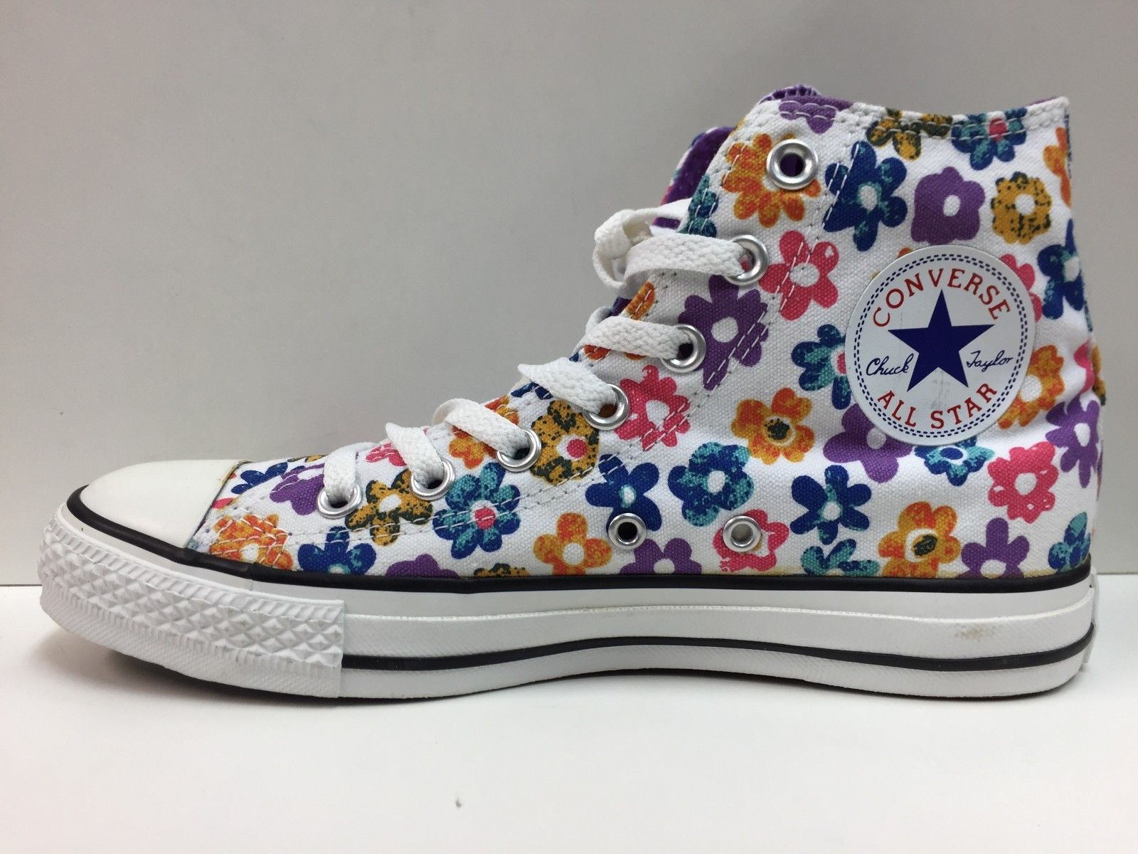 SCARPE SNEAKERS UNISEX CONVERSE ALL STAR ORIGINALE CT HI 109308 SHOES TELA NEW