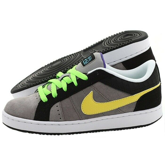 SCARPE SNEAKERS DONNA NIKE ORIGINALE ISOLATE JR 366663 001 PELLE A/I NUOVO