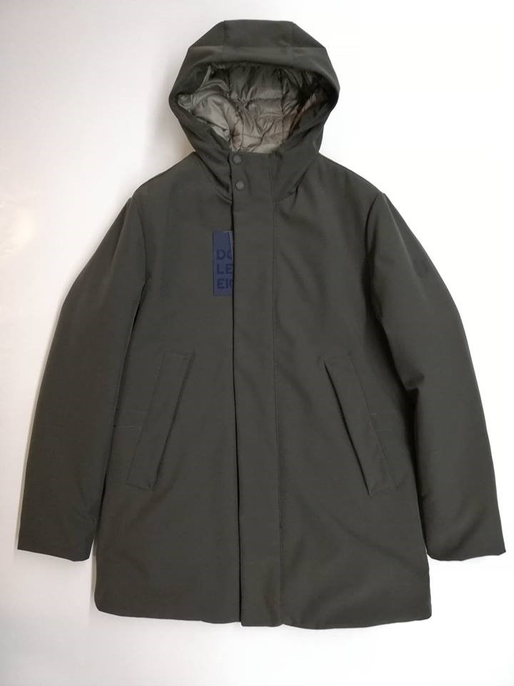 GIUBBINO PARKA GIUBBOTTO UOMO DOUBLE EIGHT ORIGINALE PIPE8 00 P459 AI VERDONE