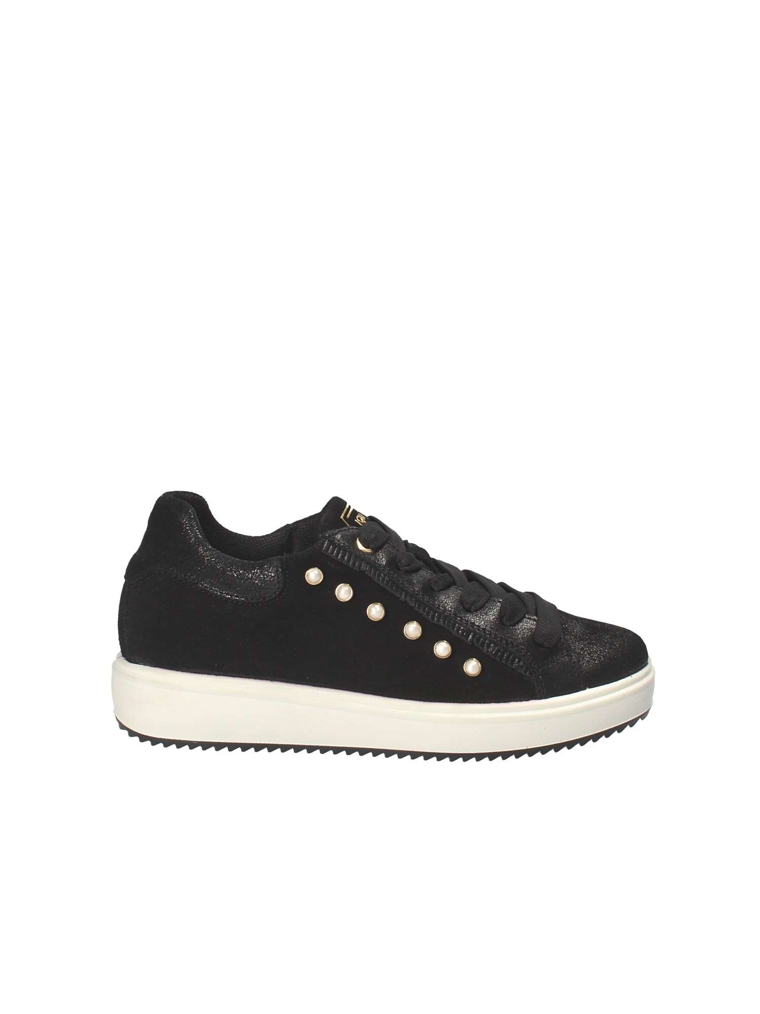 SCARPE SNEAKERS DONNA IGIECO IGI E CO 2153900 PELLE NERO ORIGINAL AI NEW