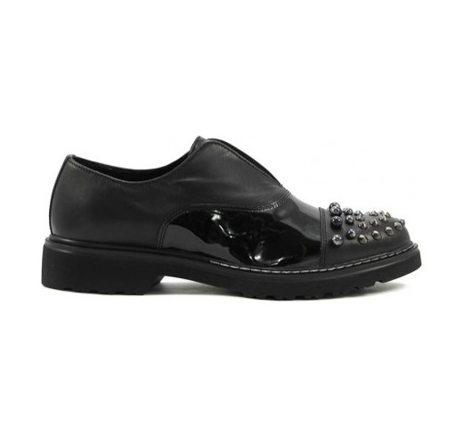 SCARPE CASUAL DONNA CULT CLE102396 SABBATH LOW PELLE NERO ORIGINAL AI NEW