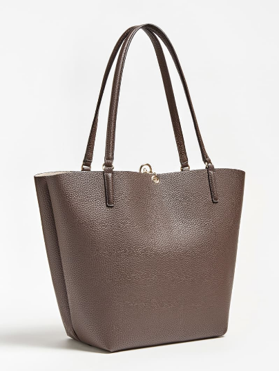 Guess Borse On Line.Bag Bags Lady Guess Hwvg 7455230 Alby Eco Leather Mocha Original
