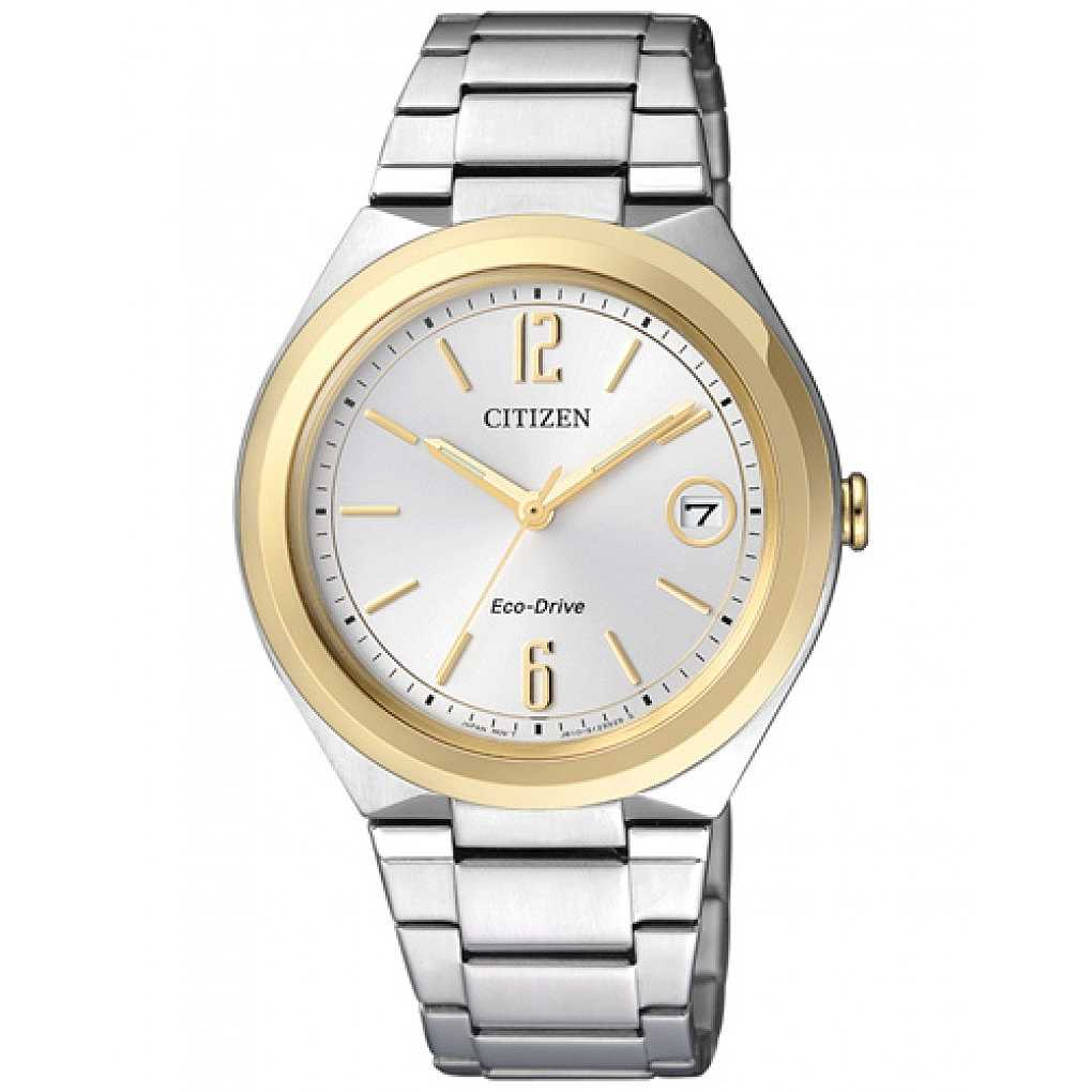 OROLOGIO DONNA CITIZEN FE6024 55A ECO DRIVE JOY LADY 35 ACCIAIO ORIGINALE NEW