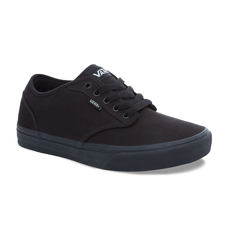 SCARPE SNEAKERS UOMO VANS VN0 TUY186 CANVAS TELA NERO ORIGINALE PE NEW