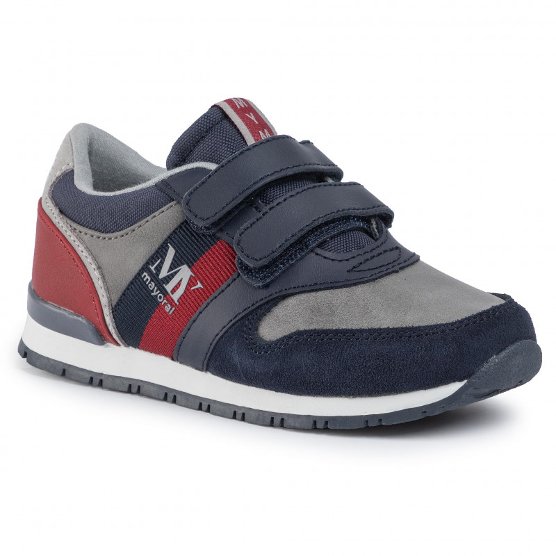 SCARPE SNEAKERS CASUAL BAMBINO MAYORAL 44101 10 PELLE RUNNING ORIGINALE AI NEW