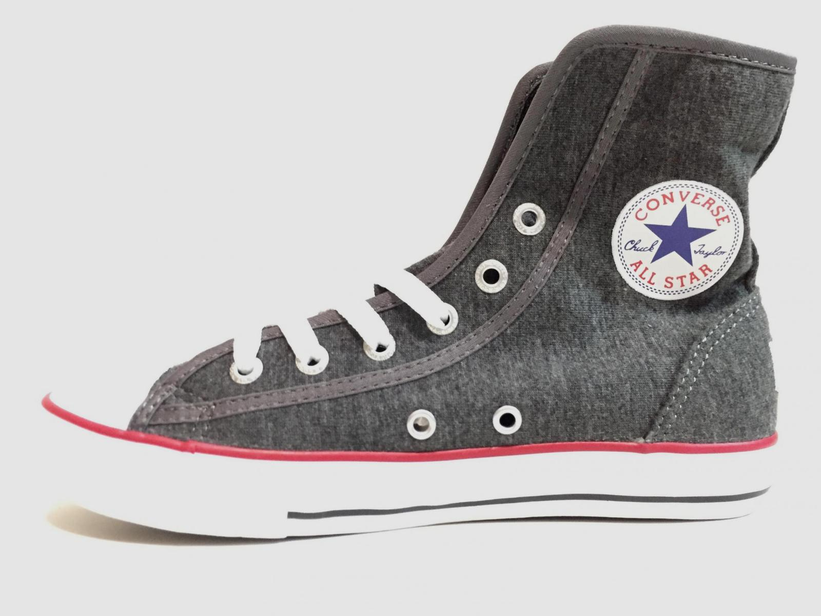 SCARPE SNEAKERS DONNA CONVERSE ALL STAR CT SUPER HI 635130C TELA ORIGINAL PE