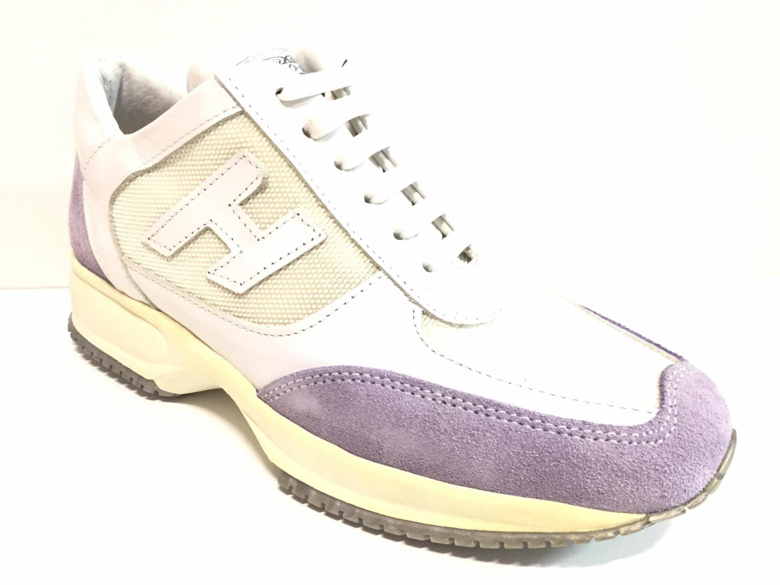 SCARPE SNEAKERS CASUAL DONNA DWD 7001D PELLE BIANCO ORIGINALE PE NEW