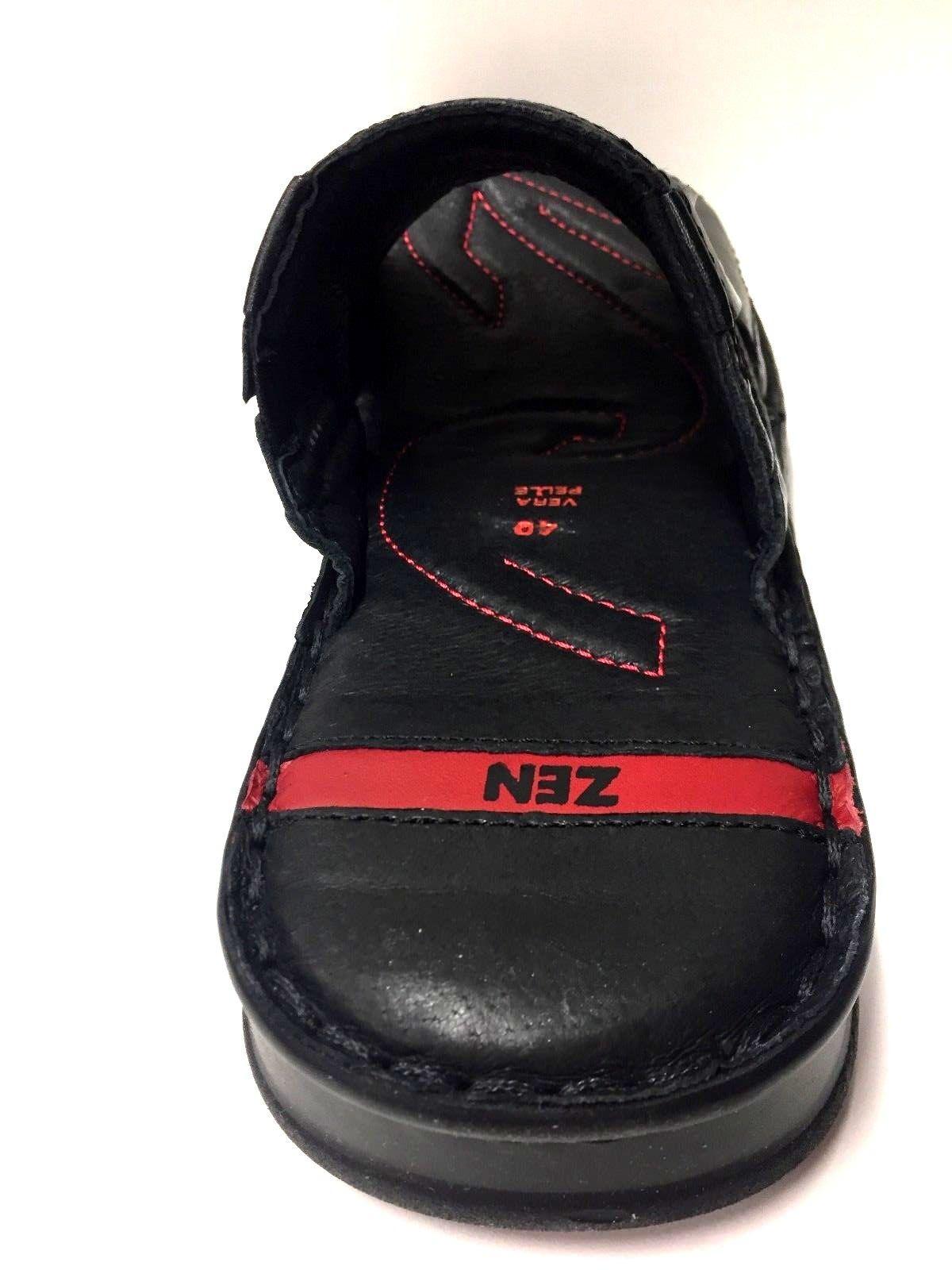 Originale 275096 Ciabatta Zen A Uomo Pantofole Ciabatte Pelle Scarpe RRSrxZqfw