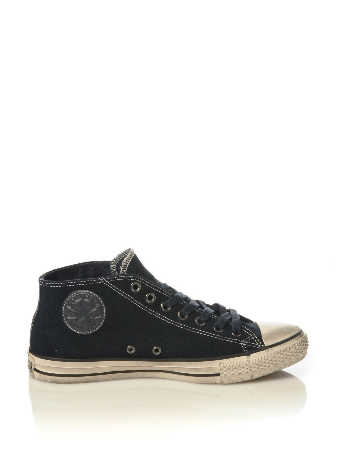SCARPE SNEAKERS DONNA UOMO CONVERSE ALL STAR ORIGINAL CT CLEAN 127390C PELLE A/I
