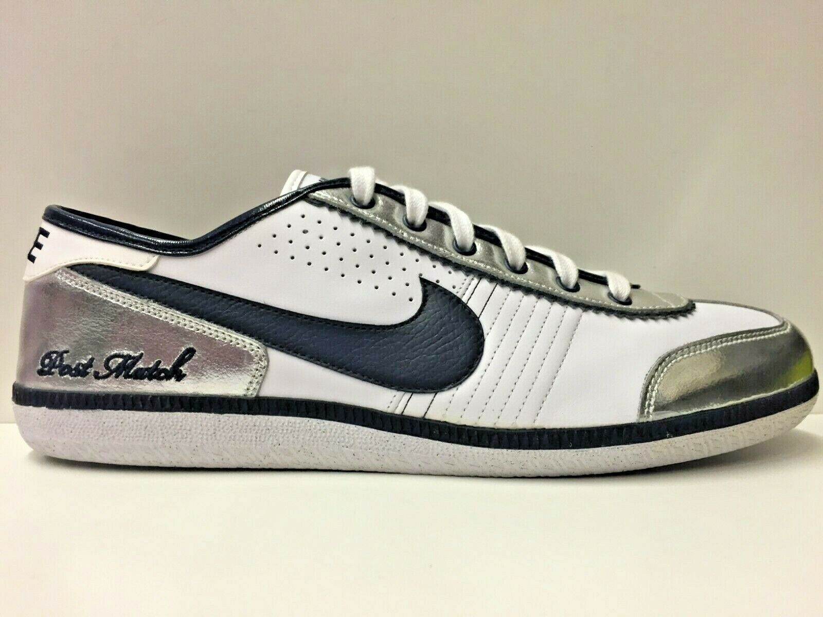 SCARPE SNEAKERS UOMO NIKE ORIGINALE POST MATCH PLUS 366364 PELLE P/E NUOVO
