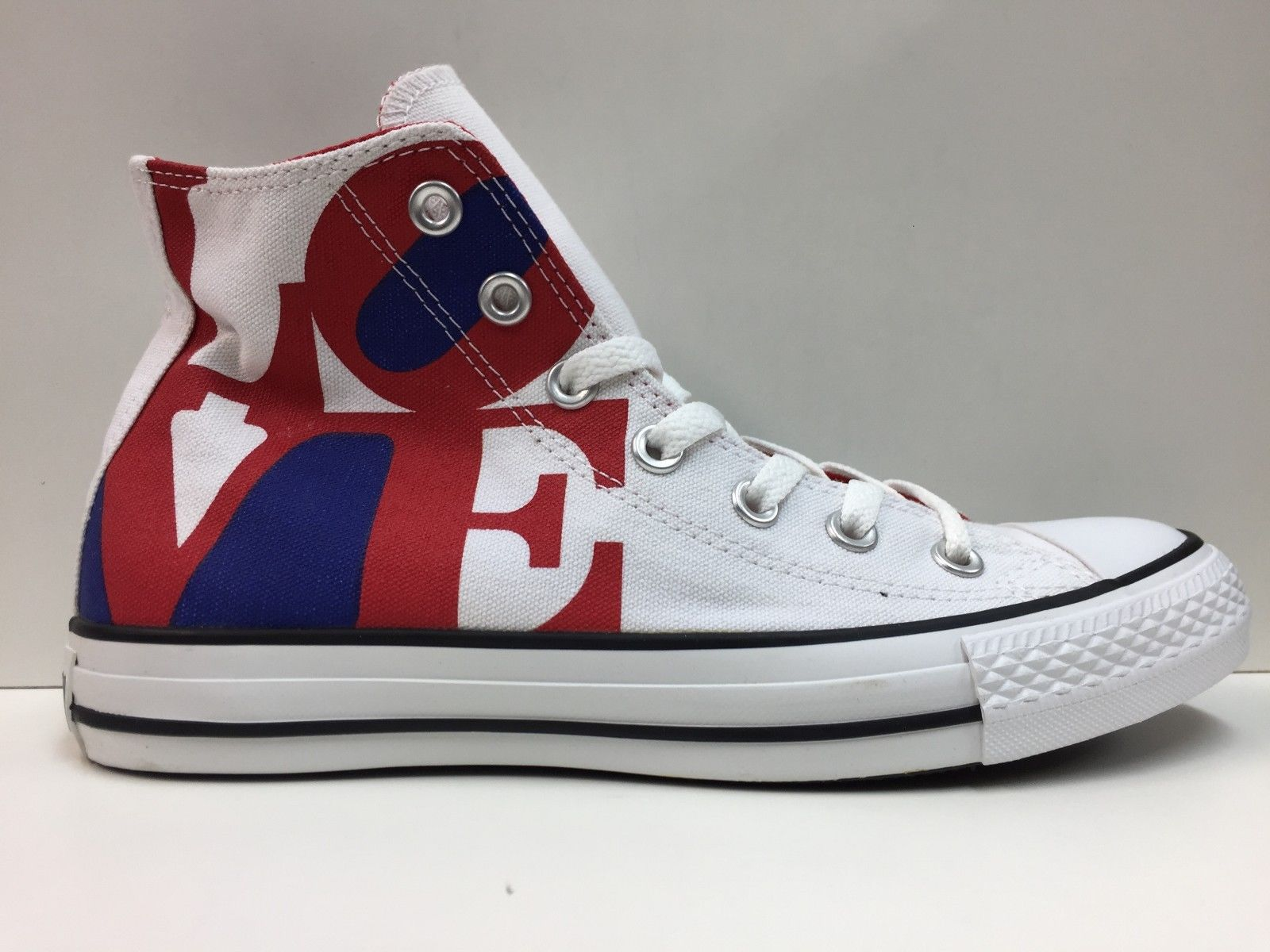 SCARPE SNEAKERS DONNA CONVERSE ALL STAR ORIGINAL CT ROBERT INDIANA HI 114025 NEW