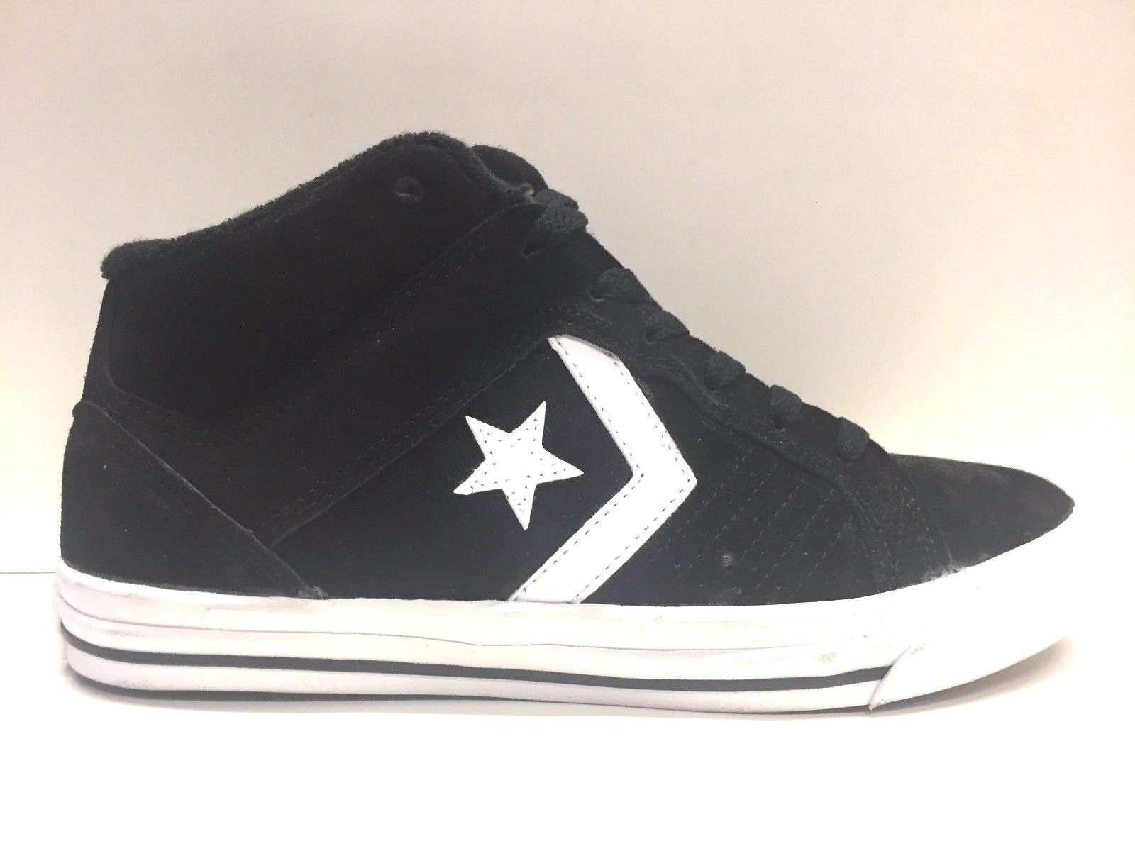 SCARPE SNEAKERS UOMO CONVERSE ALL STAR ORIGINAL GATES MID 117179 PELLE A/I NEW