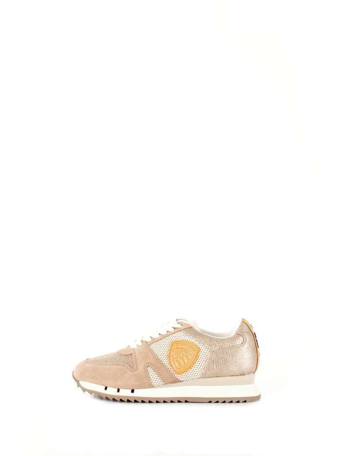 SCARPE SNEAKERS CASUAL DONNA BLAUER ORIGINALE 8SMADISON PELLE SHOES P/E 2018