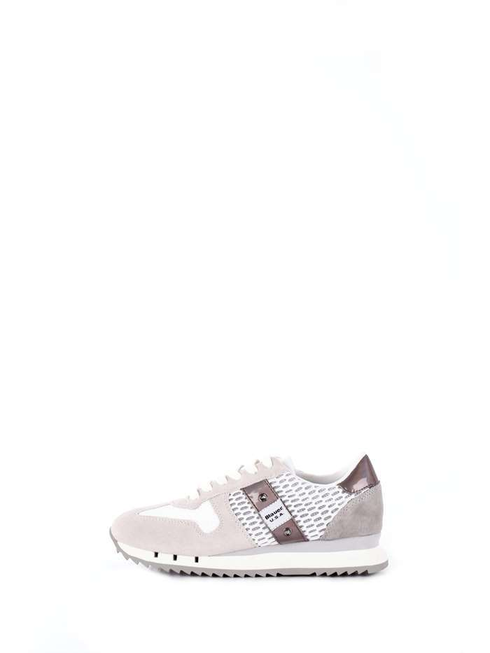 SCARPE SNEAKERS CASUAL DONNA BLAUER ORIGINALE 8SMADISON01 PELLE SHOES P/E 2018