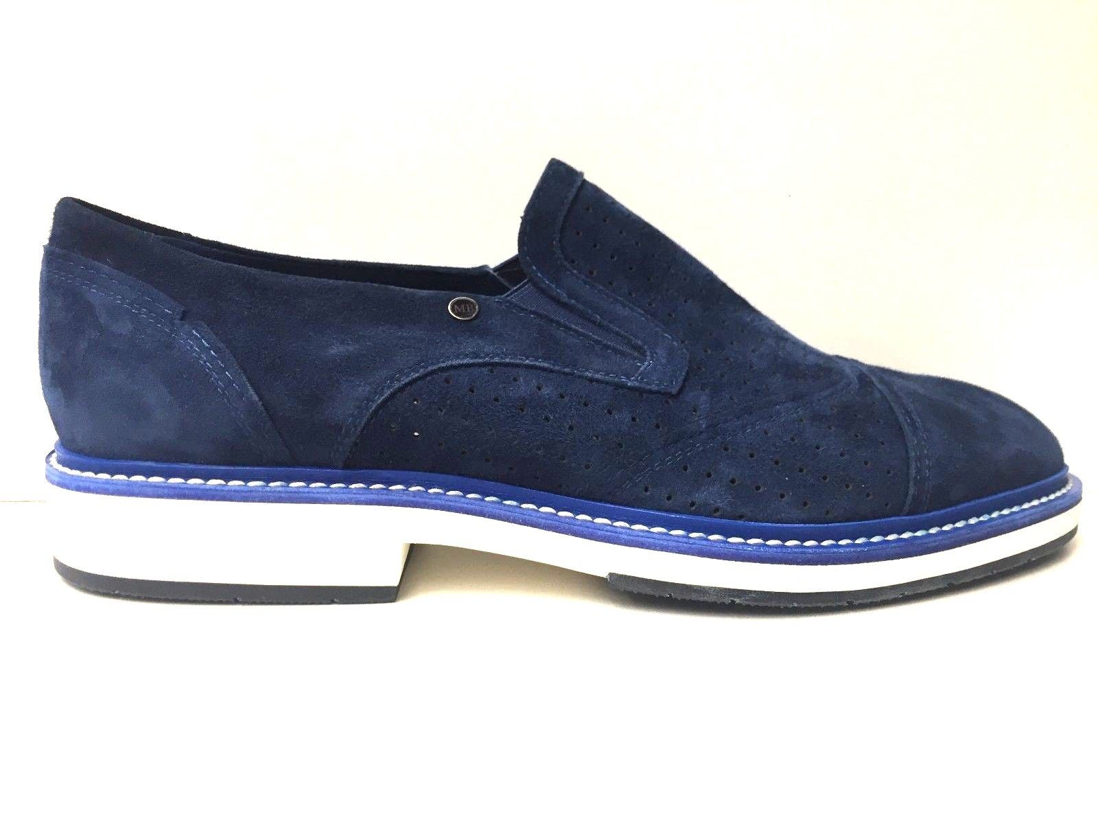 SCARPE MOCASSINI CASUAL UOMO MARIO BRUNI ORIGINALE 58588 PELLE PE SHOES NUOVO