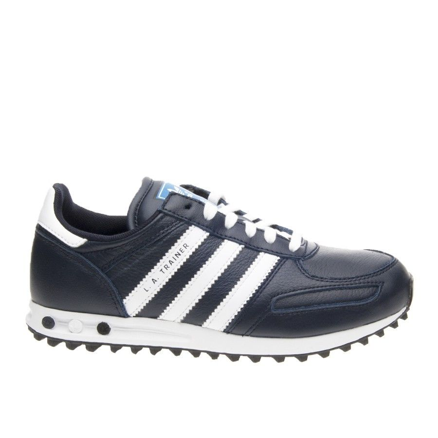 Details about Unisex Shoes Adidas Original LA TRAINER K g95272 Leather  Shoes Blue NEW- show original title