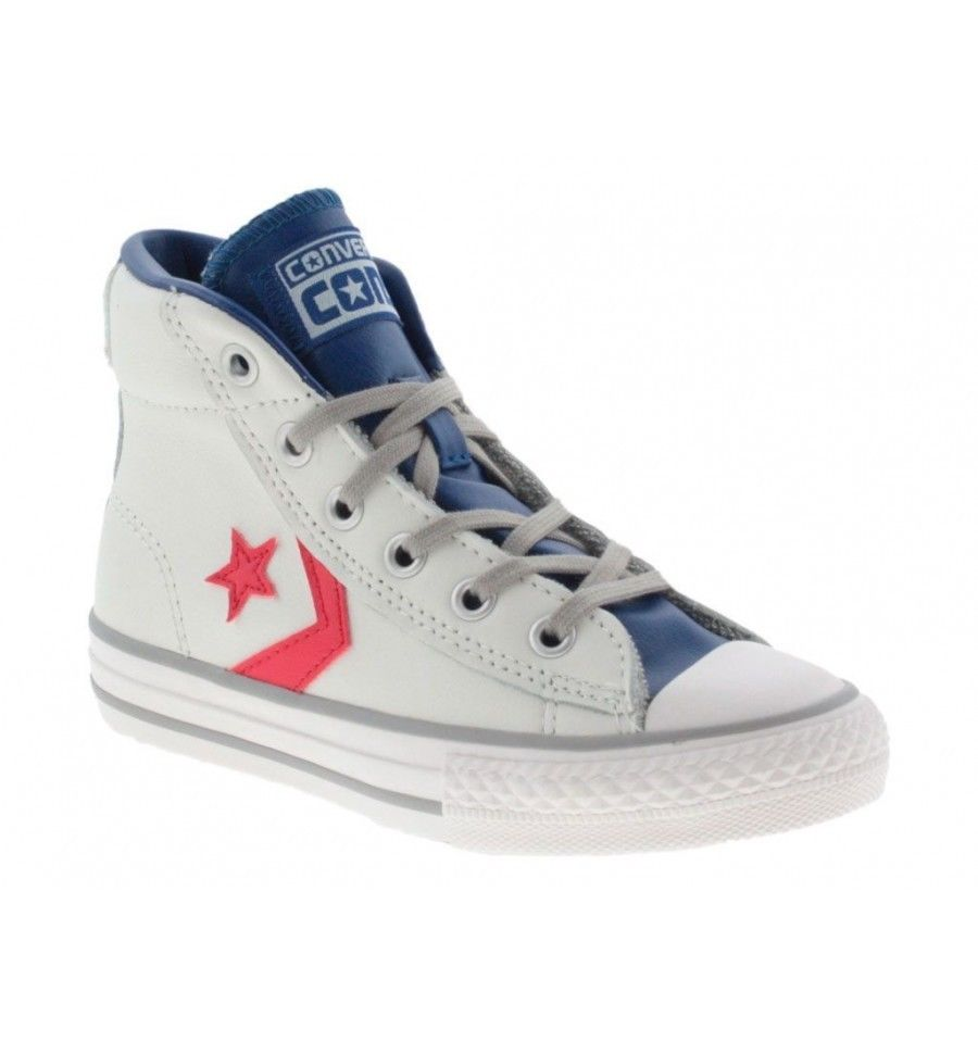 SCARPE SNEAKERS DONNA UOMO CONVERSE ALL STAR ORIGINAL STAR PLAYER 655167C PELLE
