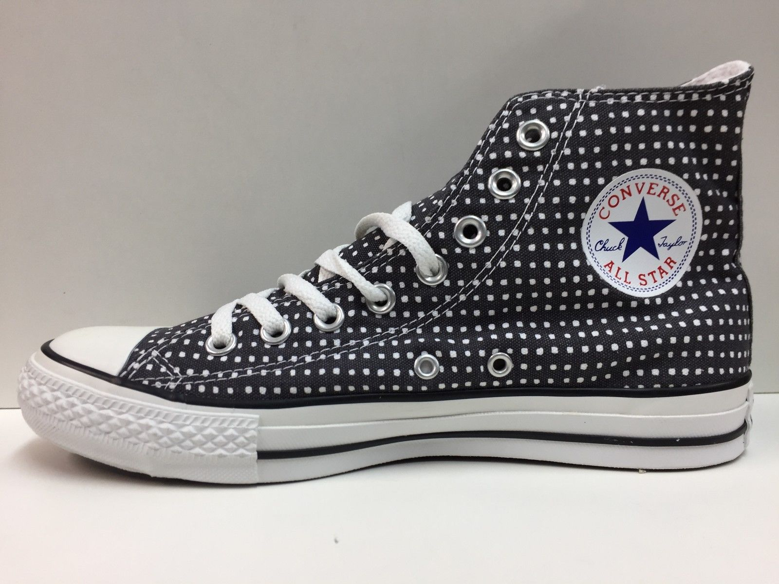SCARPE SNEAKERS UNISEX CONVERSE ALL STAR ORIGINALE CT SQUARES 109553 NEW