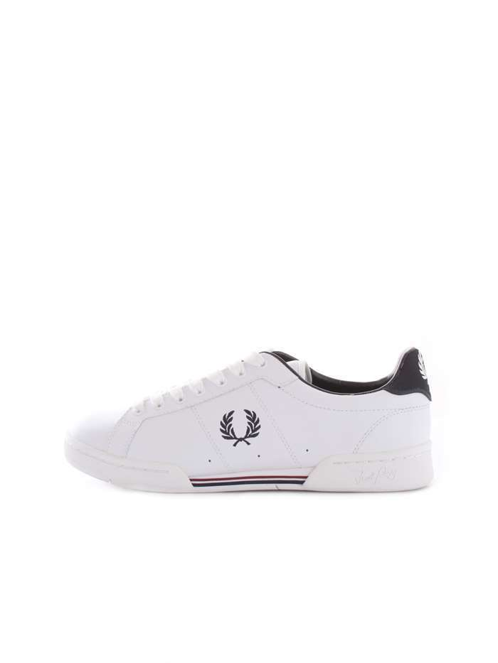 SCARPE SNEAKERS UOMO FRED PERRY ORIGINALE B7222 PELLE A/I 2018/19 MEW