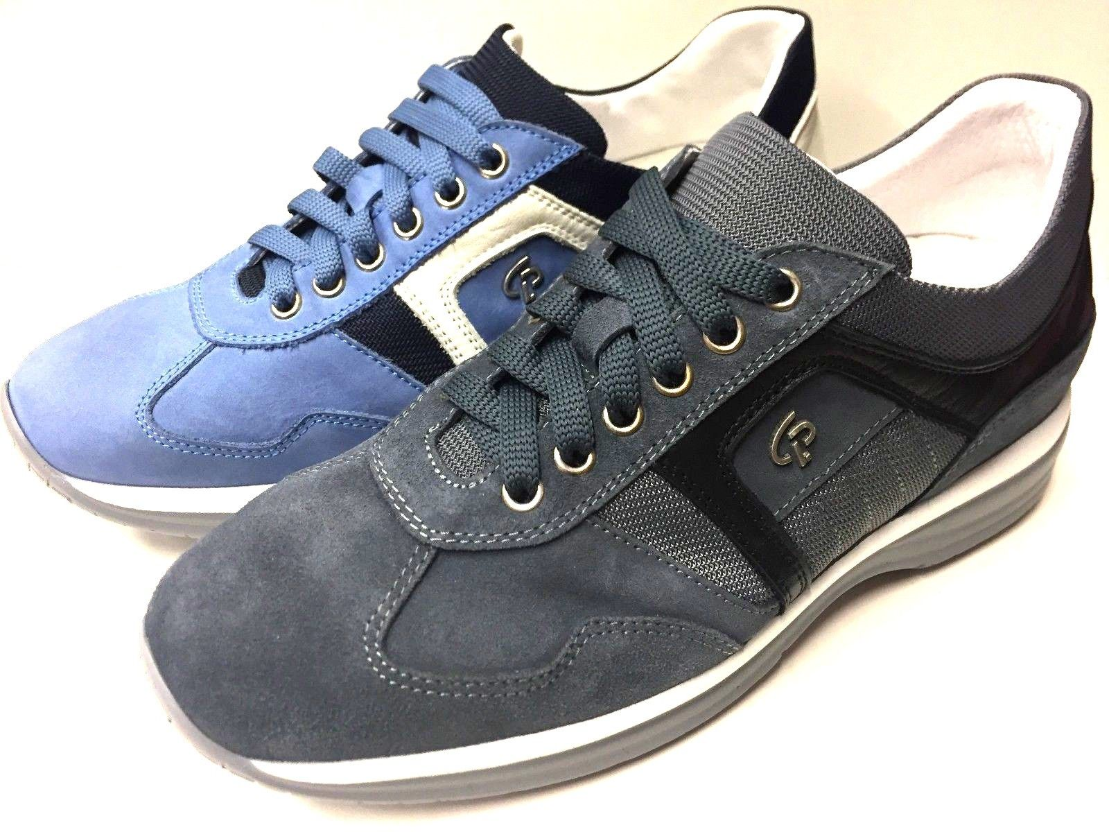 SCARPE SNEAKERS CASUAL UOMO CESARE PACIOTTI ORIGINALE EA08T PELLE SHOES P/E NEW