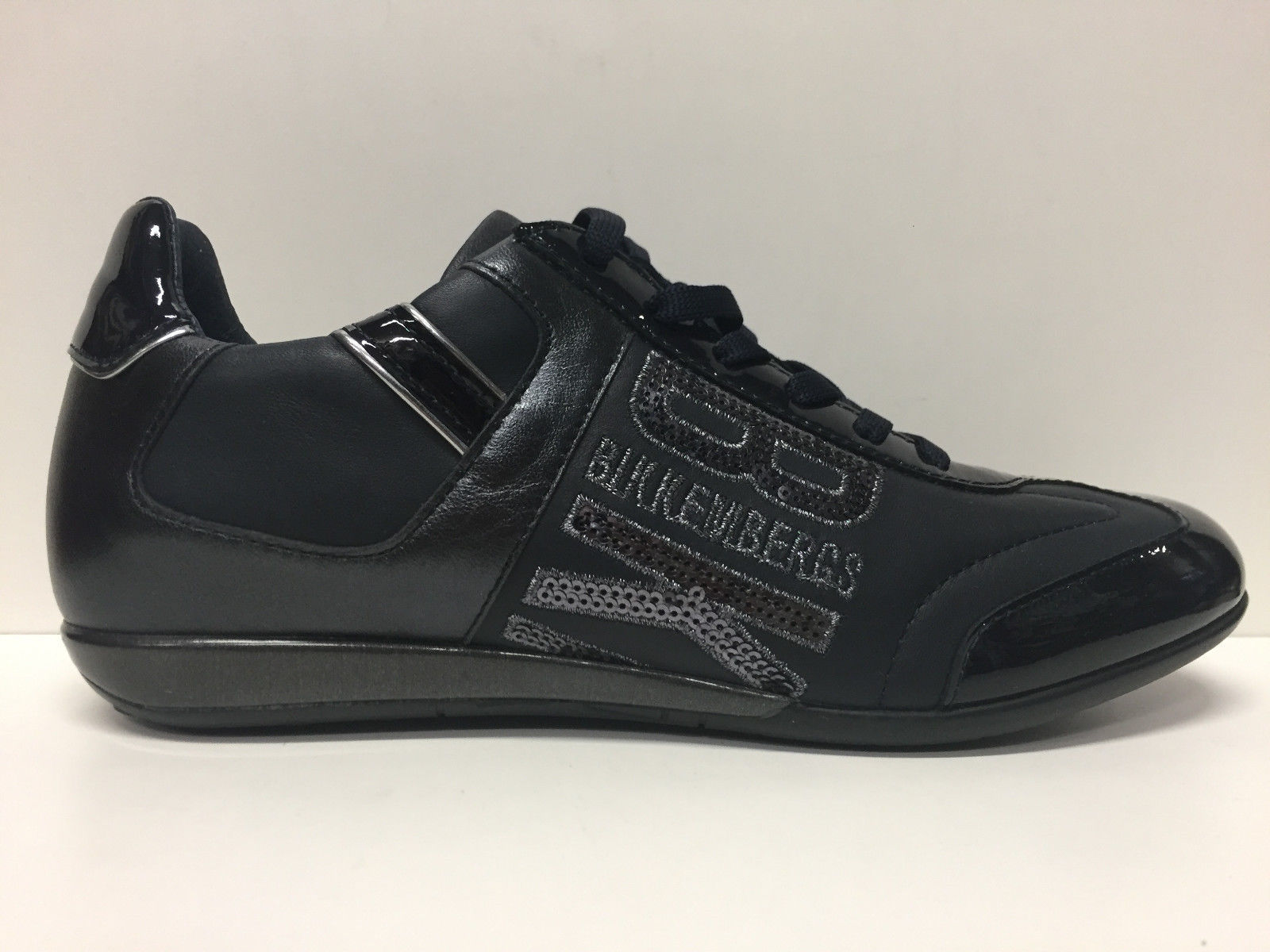 SCARPE SNEAKERS DONNA BIKKEMBERGS ORIGINALI BKE103449 PELLE SHOES LEATHER WOMAN