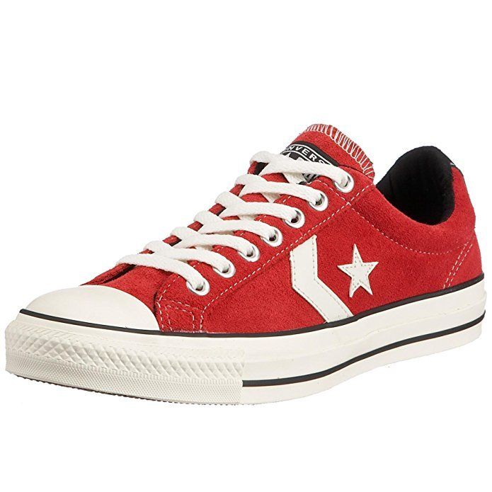 SCARPE SNEAKERS DONNA UOMO CONVERSE ALL STAR ORIGINAL STRA PLAYER 111322 PELLE
