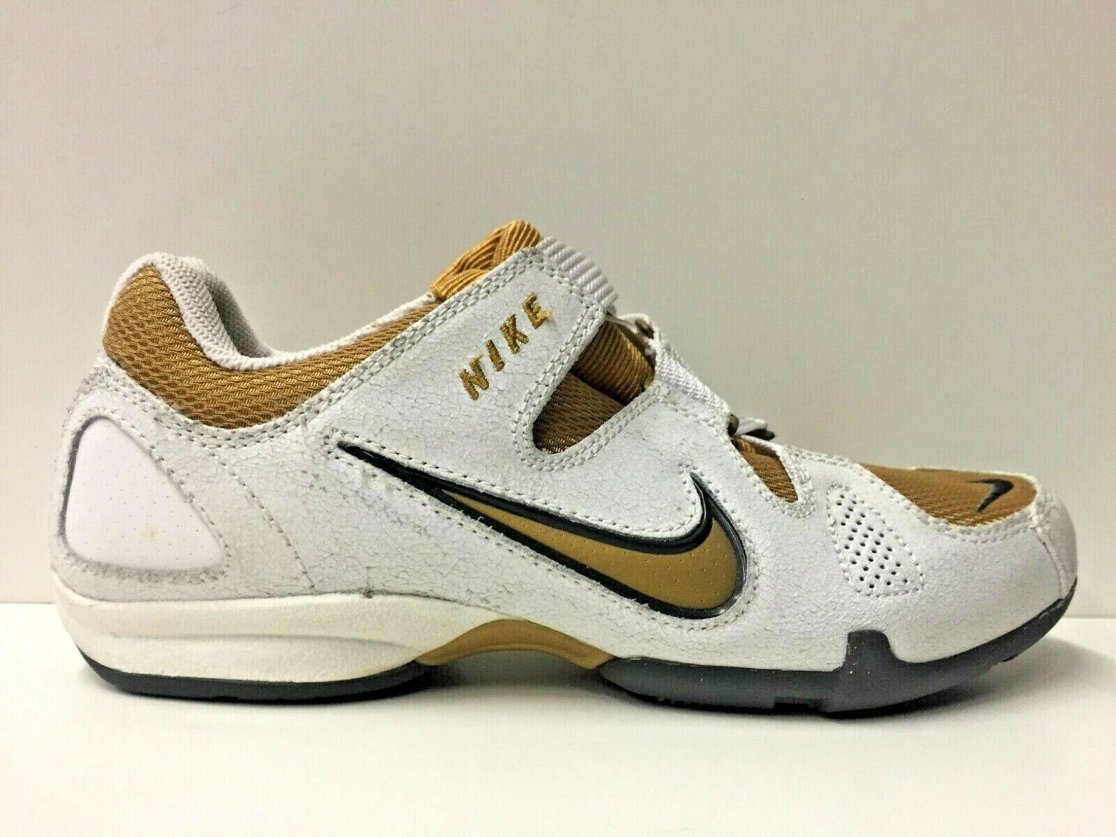 SCARPE SNEAKERS DONNA NIKE ORIGINALE SPIN TRAINER 311099 171 PELLE P/E NEW