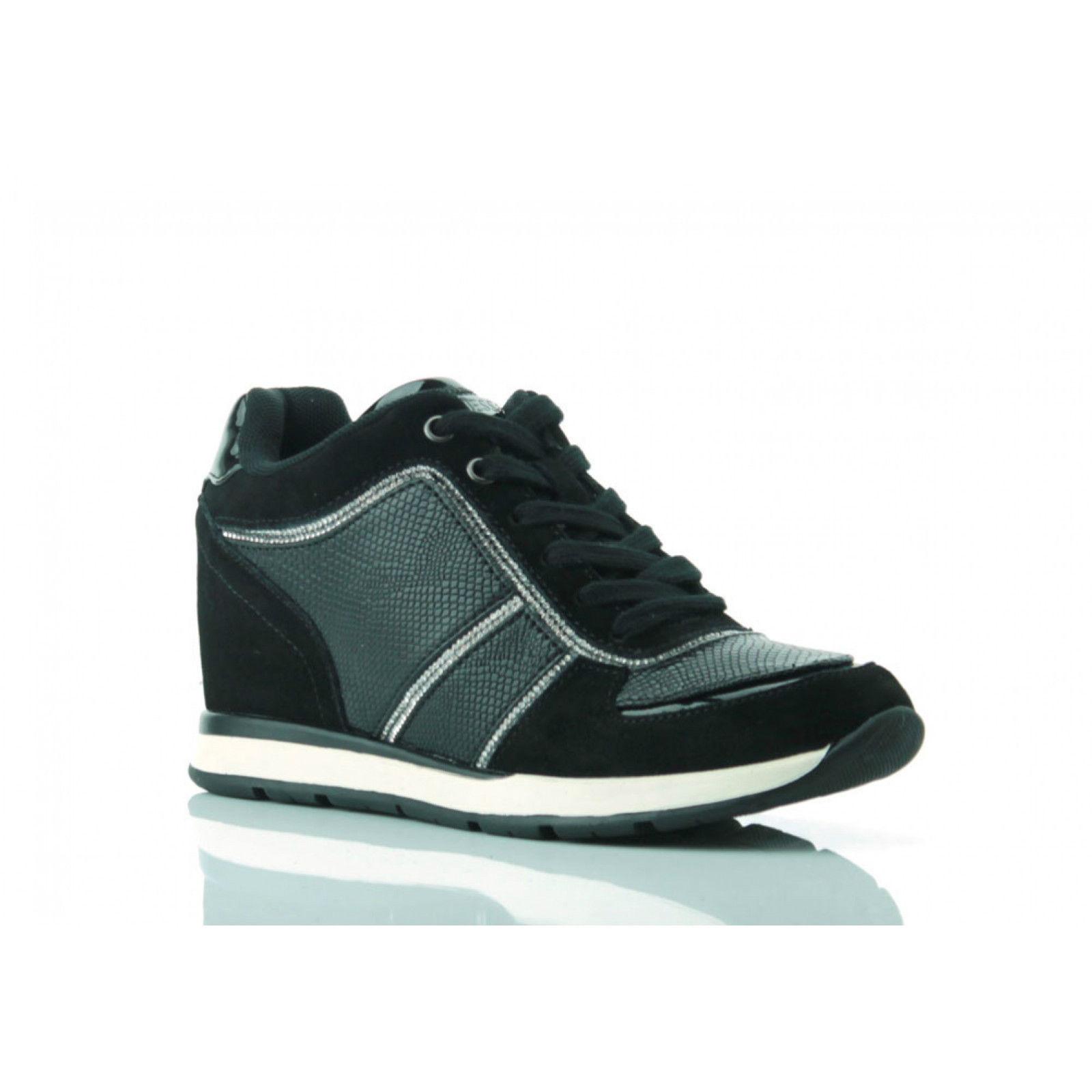 Shoes Donna Pelle Originale Scarpe Guess Ai Sneakers Fllce3sue12 Owq75Y7