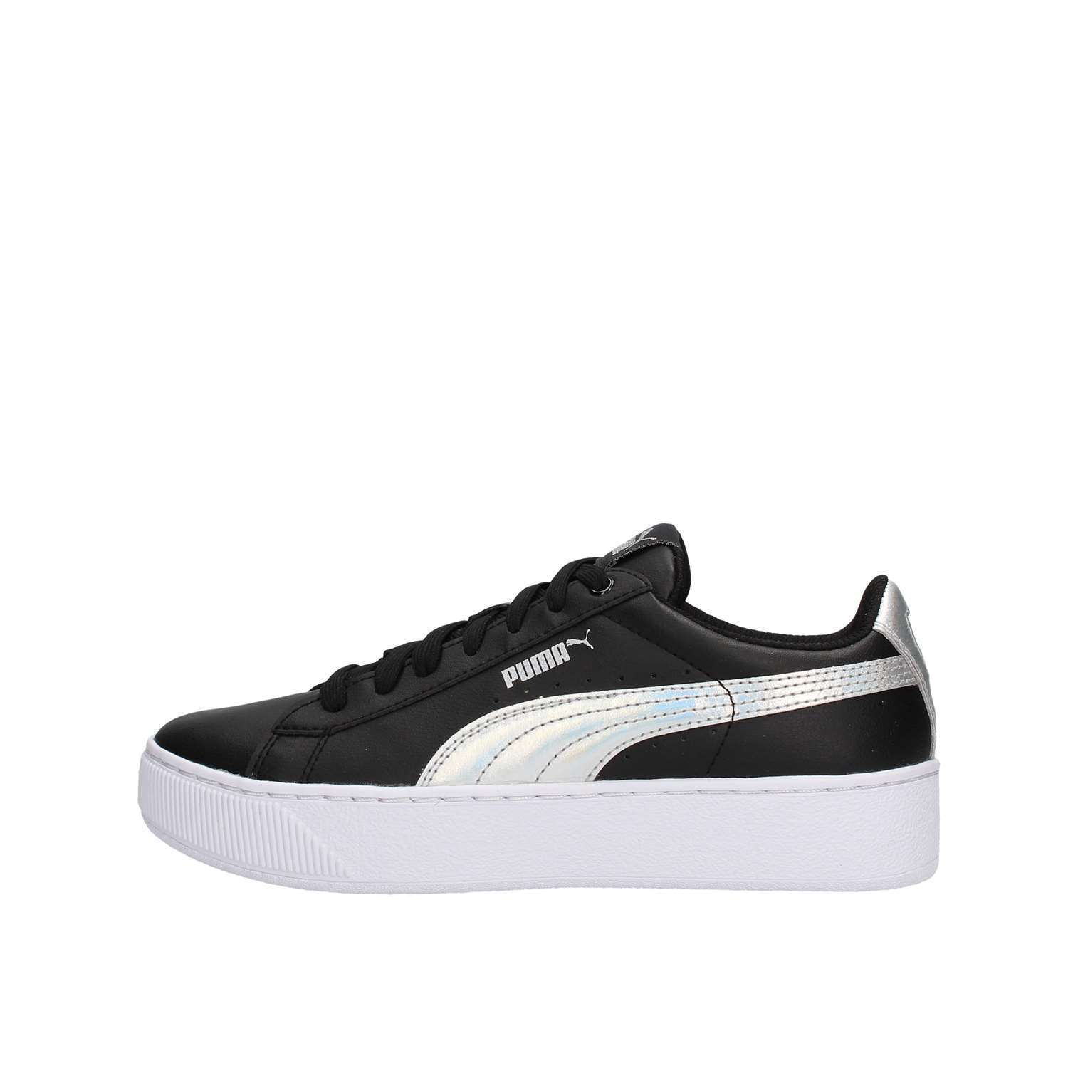 SCARPE SNEAKERS UNISEX PUMA ORIGINALE VIKKY PLATFORM 365629 PELLE SHOES A/I NEW