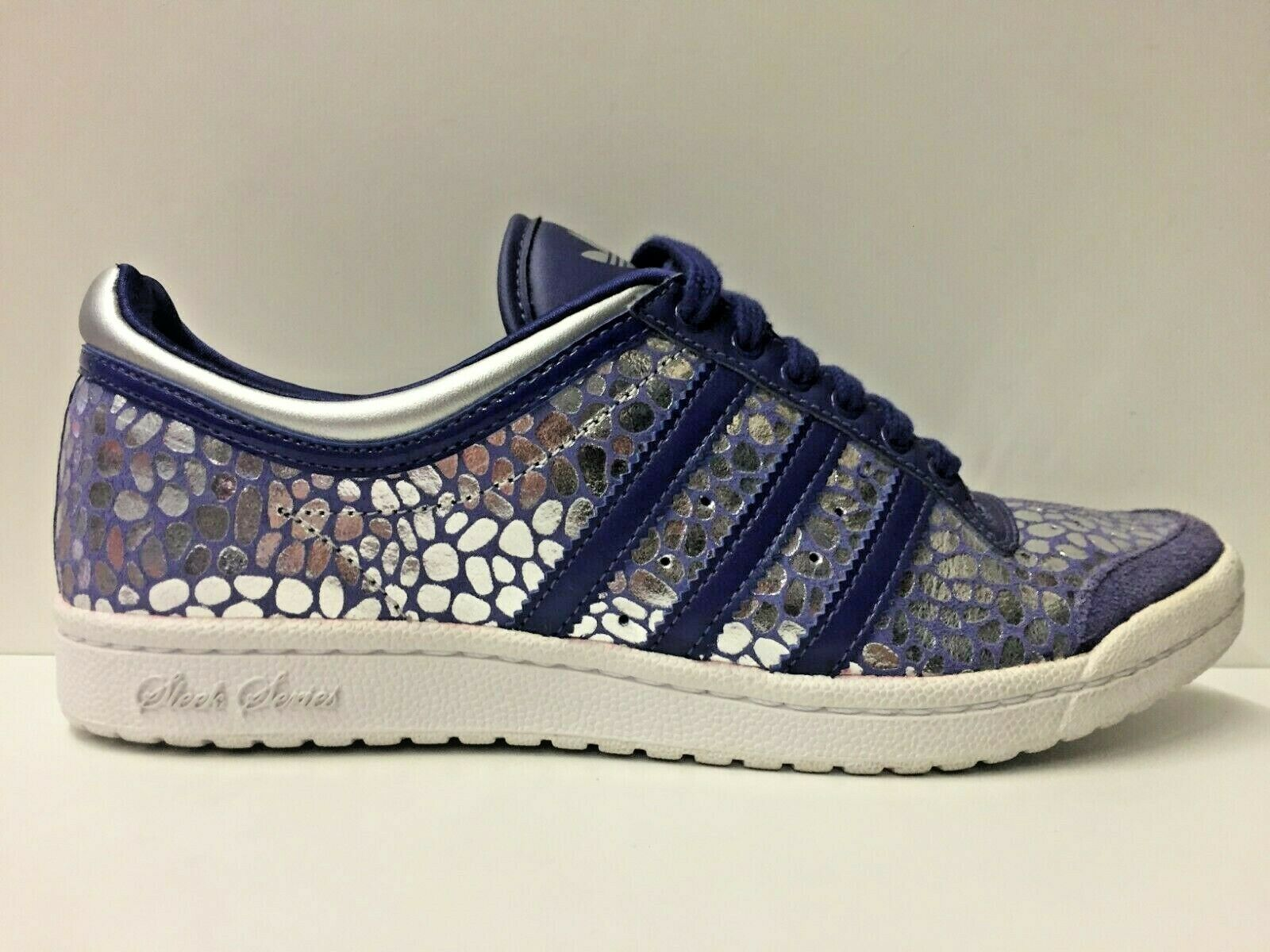 SCARPE SNEAKERS DONNA ADIDAS ORIGINAL TOP TEN LOW SLEEK W G44296 PELLE P/E NEW