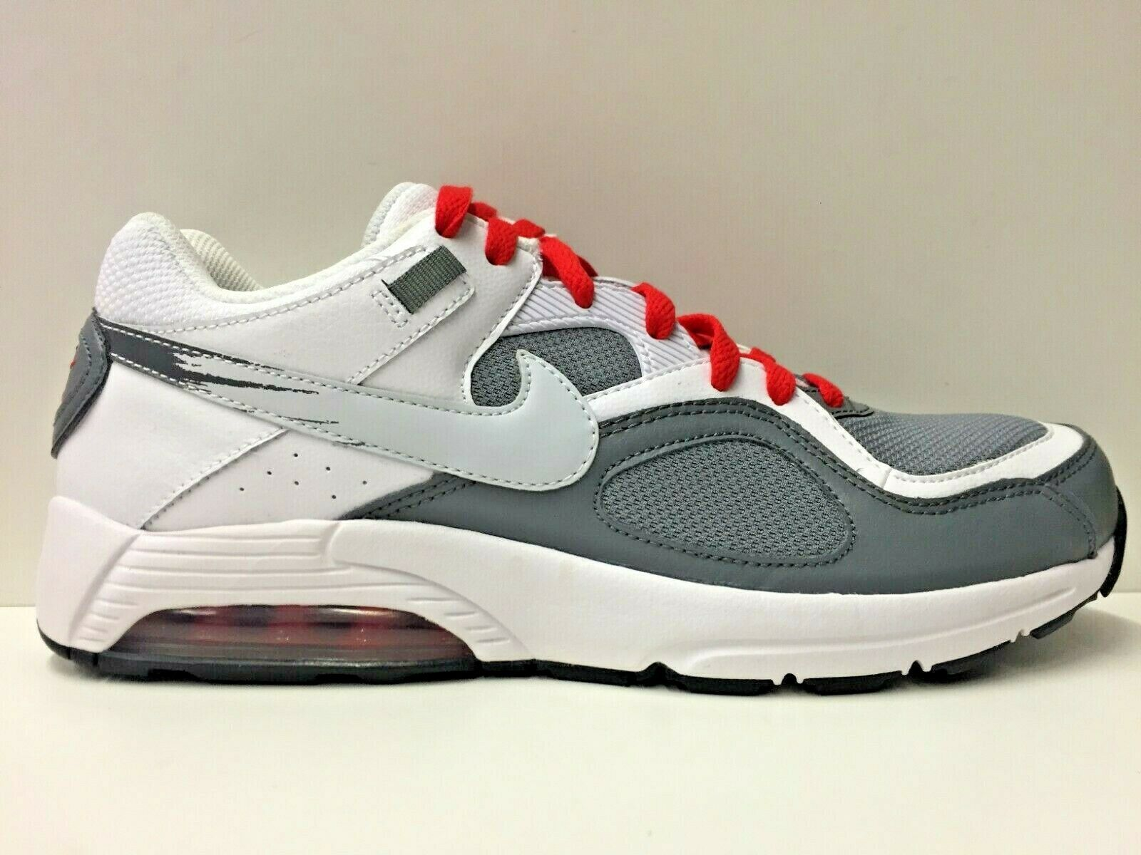 SCARPE SNEAKERS UOMO NIKE ORIGINALE AIR MAX GO STRONG ESSENTIAL 631718 PELLE P/E