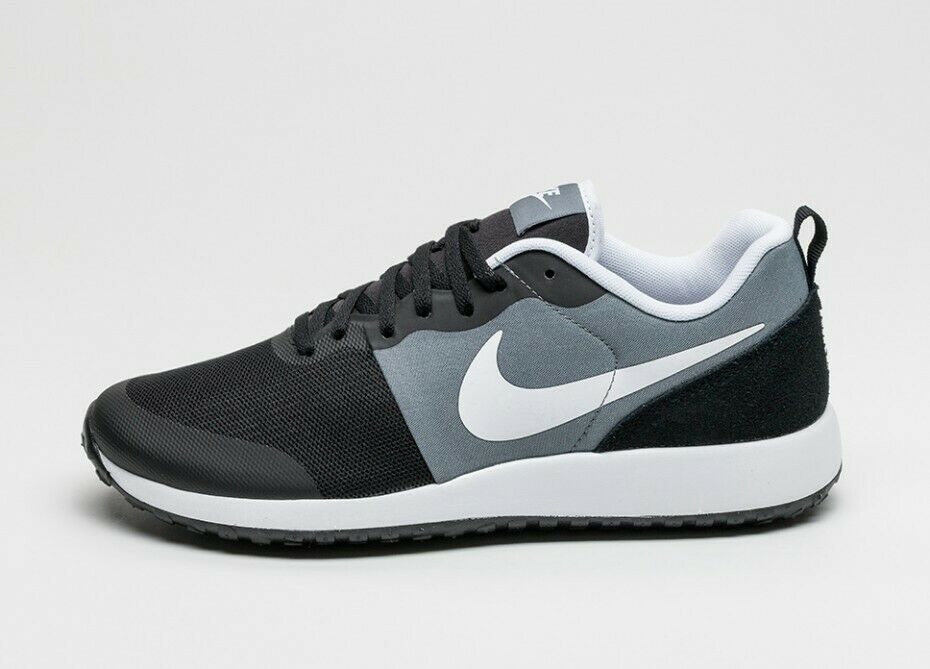 SCARPE SNEAKERS UOMO NIKE ORIGINALE ELITE SHINSEN 801780 011 ECO PELLE P/E NEW