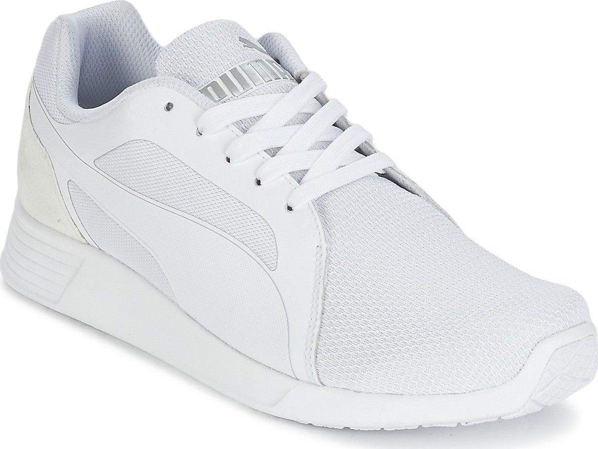 SCARPE SNEAKERS UOMO PUMA ORIGINALE ST TRAINER EVO TECH 360478 PELLE P/E NEW