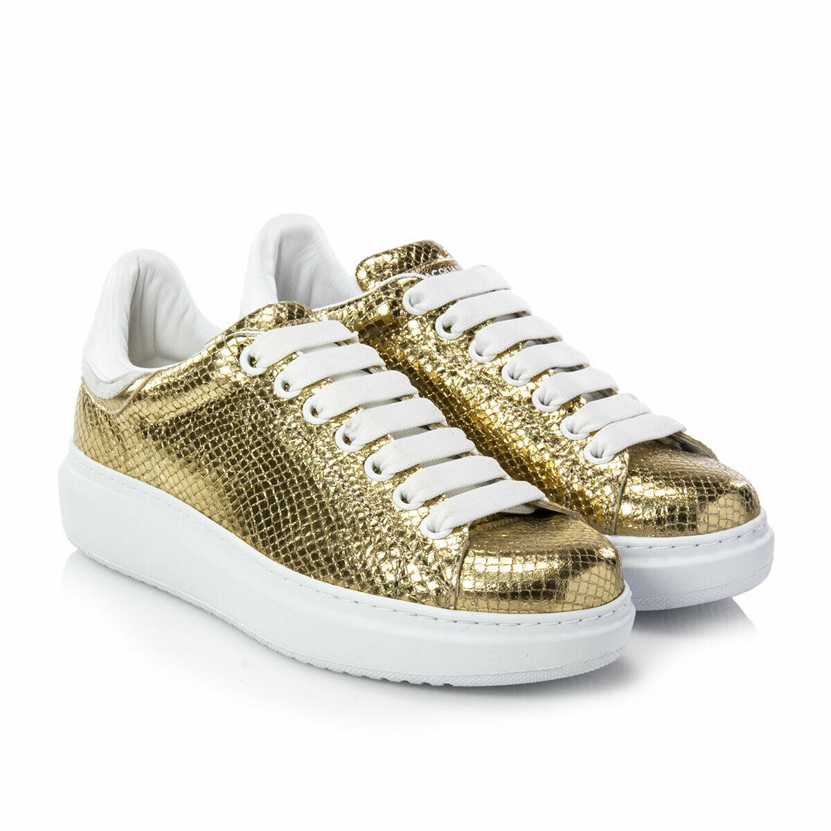 SCARPE SNEAKERS DONNA D'ACQUASPARTA ORIGINALE COURT HIGH PELLE P/E 2019 NUOVO