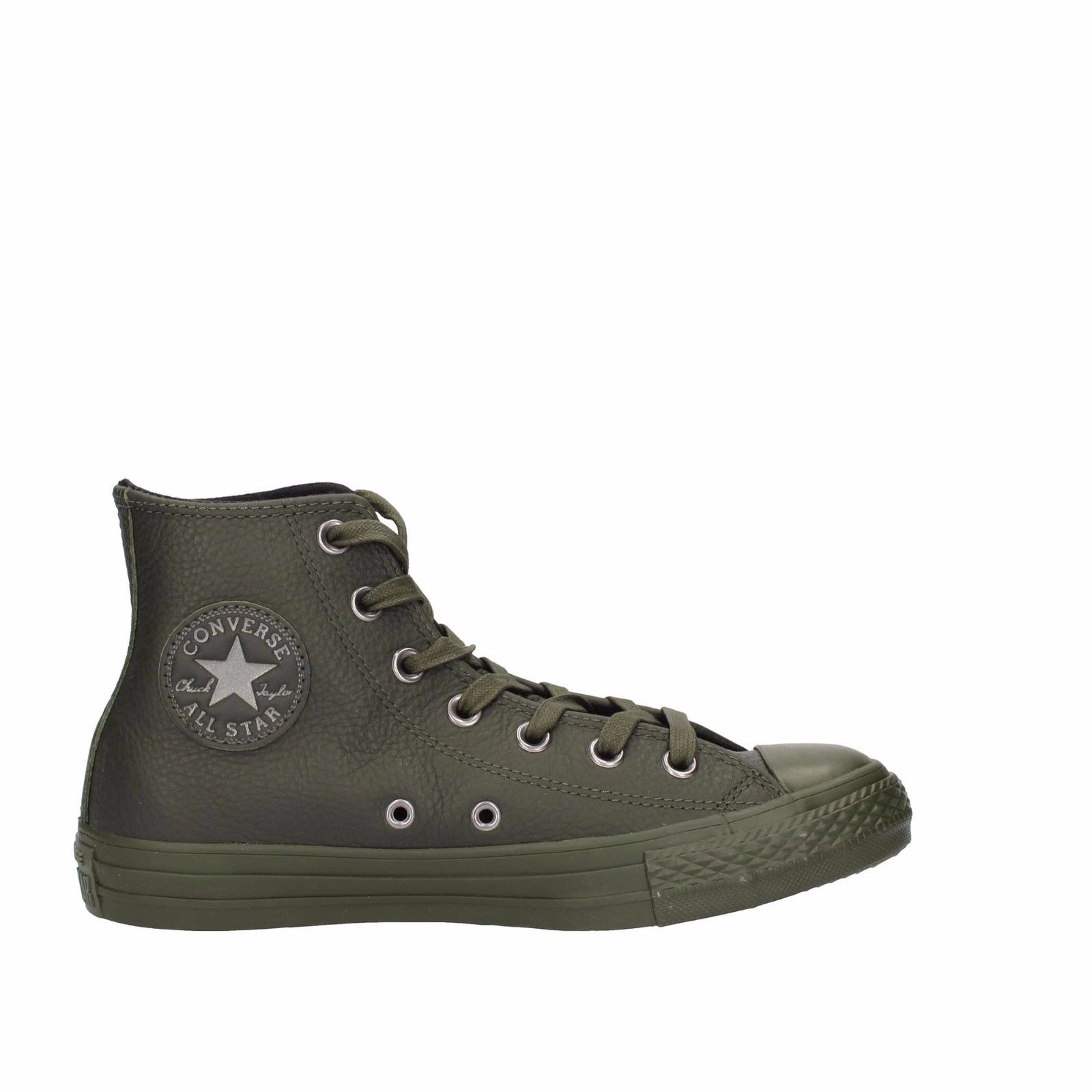 SCARPE SNEAKERS UOMO CONVERSE ALL STAR ORIGINAL CT HI 155132C PELLE SHOES NEW