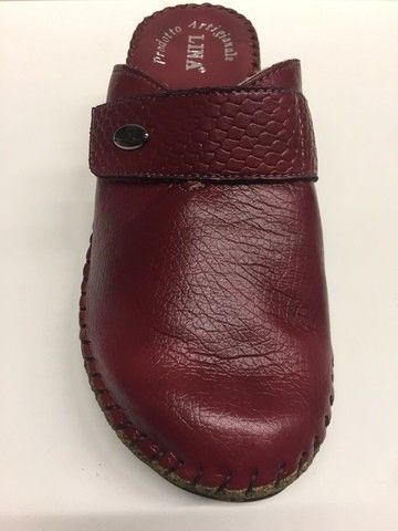 ... SCARPE CIABATTE DONNA LINA ORIGINALI 5964 PELLE SHOES SLIPPERS LEATHER  PANTOFOLE ... 4782e6c0063