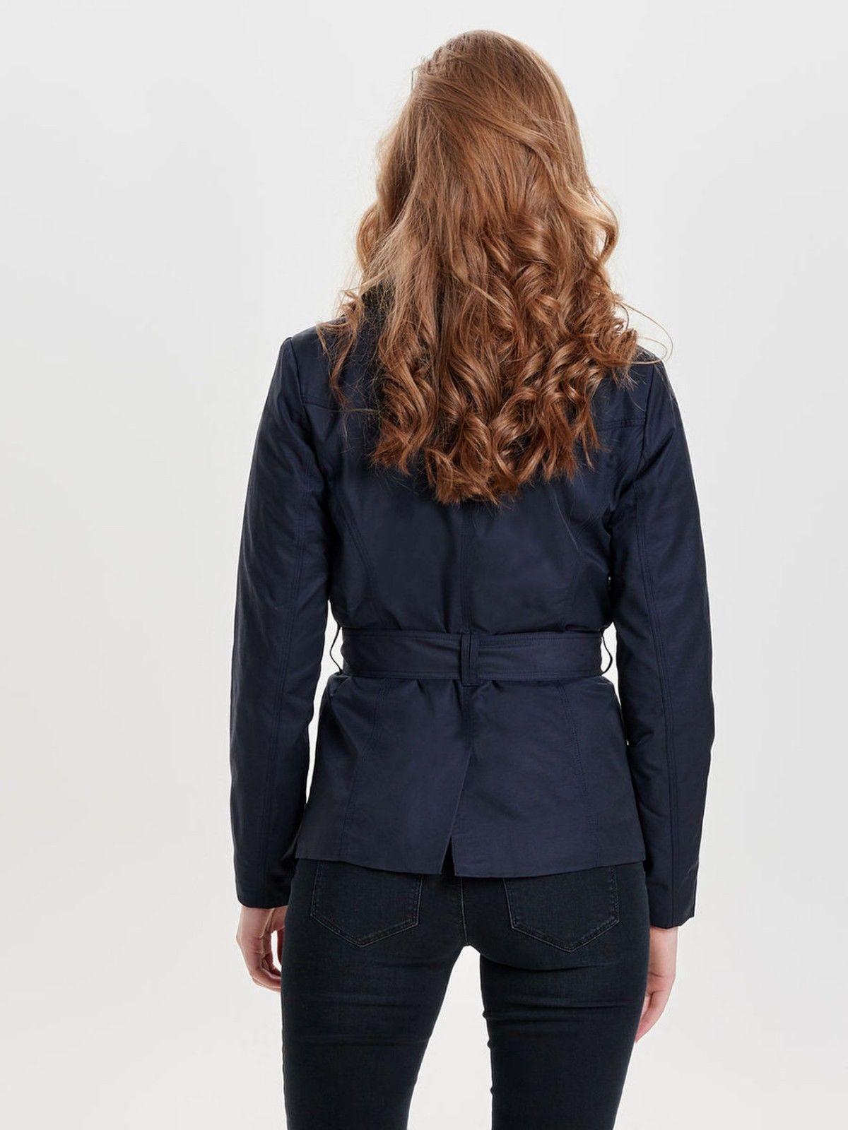 online store b3b98 f37e7 Cappotti e giacche Only Piumino Cappotto Donna Blu Night Sky ...
