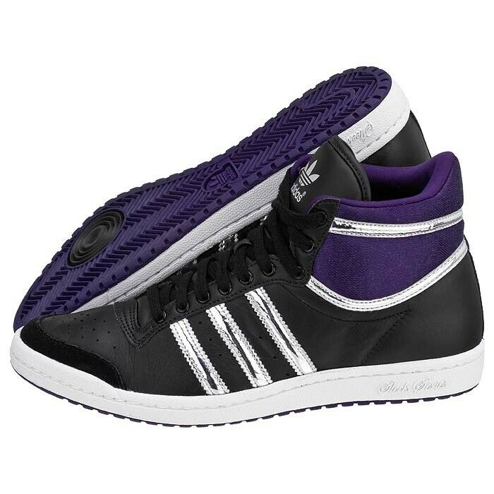 SCARPE SNEAKERS DONNA ADIDAS ORIGINAL TOP TEN HI SLEEK W G46234 PELLE A/I NEW