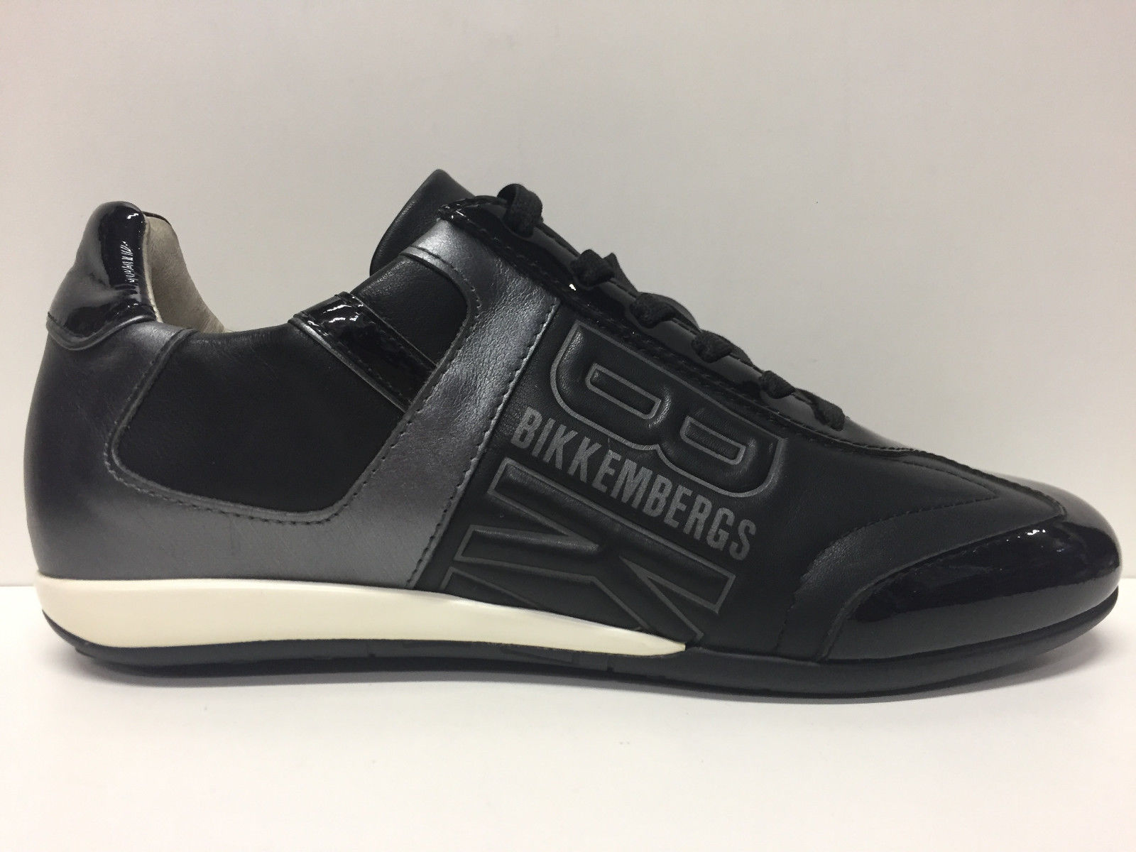 SCARPE SNEAKERS DONNA BIKKEMBERGS ORIGINALI BKE101322 PELLE SHOES LEATHER WOMAN