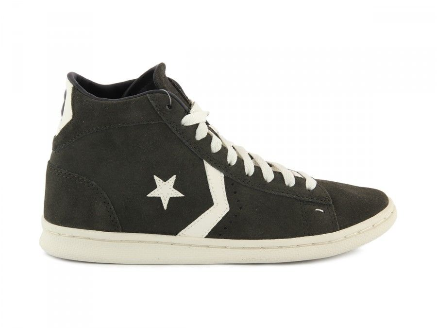 SCARPE SNEAKERS UOMO CONVERSE ALL STAR ORIGINAL PRO 141602C SHOES PELLE A/I NEW