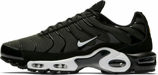 SCARPE SNEAKERS UOMO NIKE ORIGINALE AIR MAX PLUS 852630 PELLE SHOES P/E NUOVO