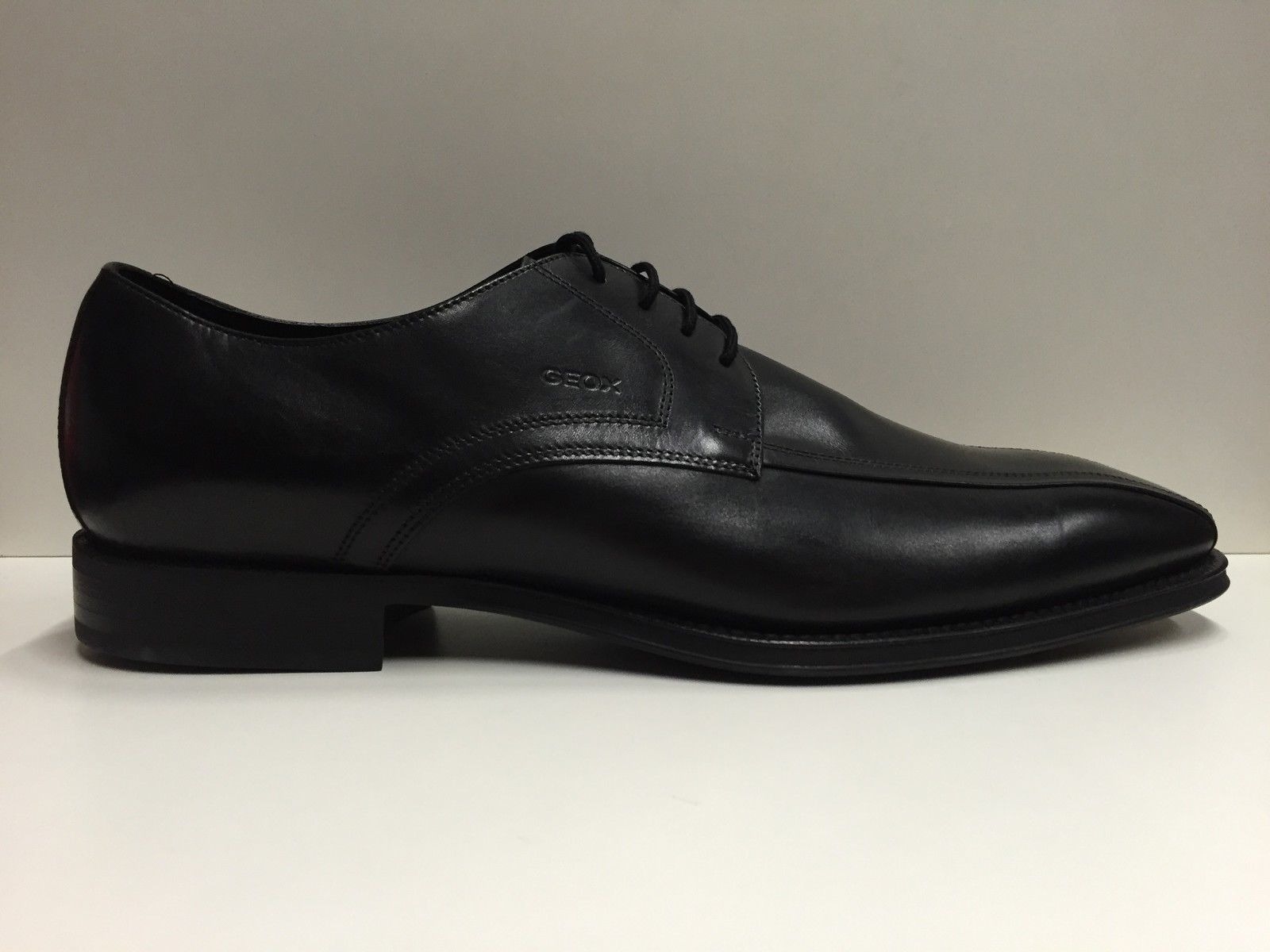 aa62297a72 SCARPE ELEGANTI UOMO GEOX ORIGINAL NEW TREND U81V9C NERO PELLE SHOES LEATHER  MAN - mainstreetblytheville.org
