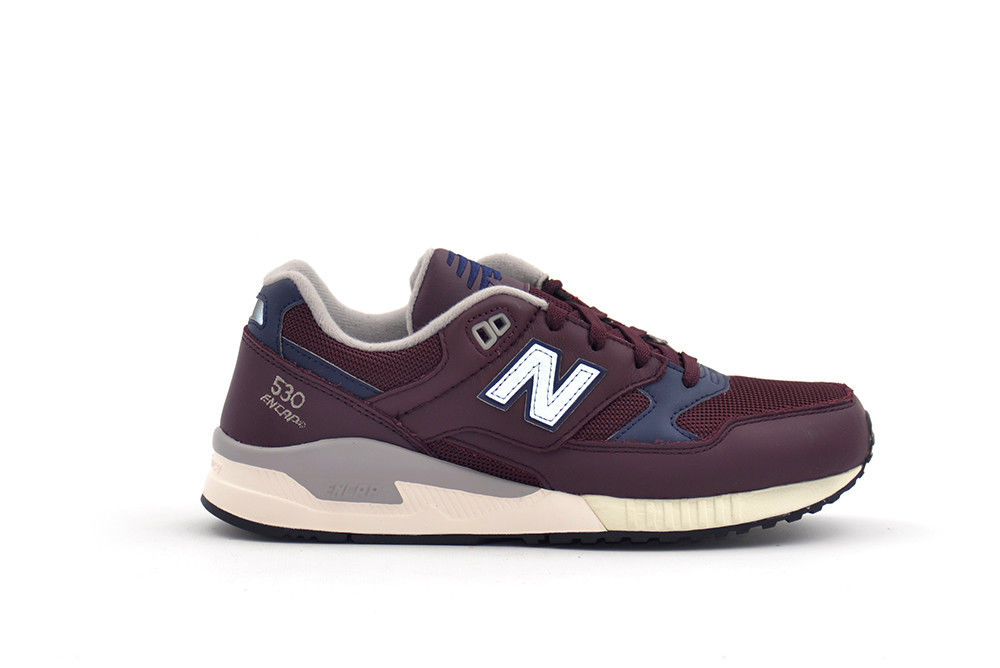SCARPE SNEAKERS CASUAL UOMO NEW BALANCE ORIGINALE M530LGC PELLE SHOES A/I NEW