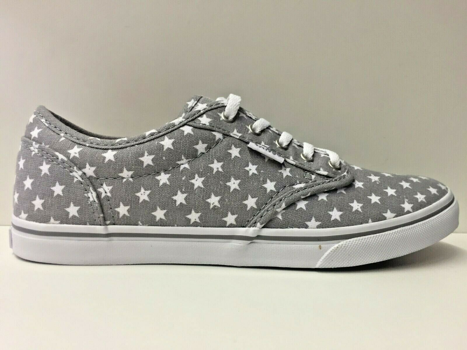 SCARPE SNEAKERS DONNA VANS VN-0 ZUOFES ATWOOD LOW FROST GRAY TELA PE ORIGINALE