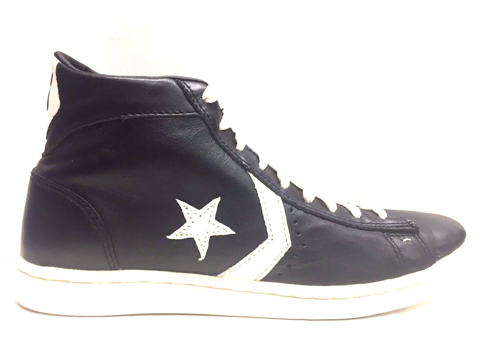 SCARPE SNEAKERS DONNA UOMO CONVERSE ALL STAR ORIGINAL PRO 128145C PELLE A/I NEW