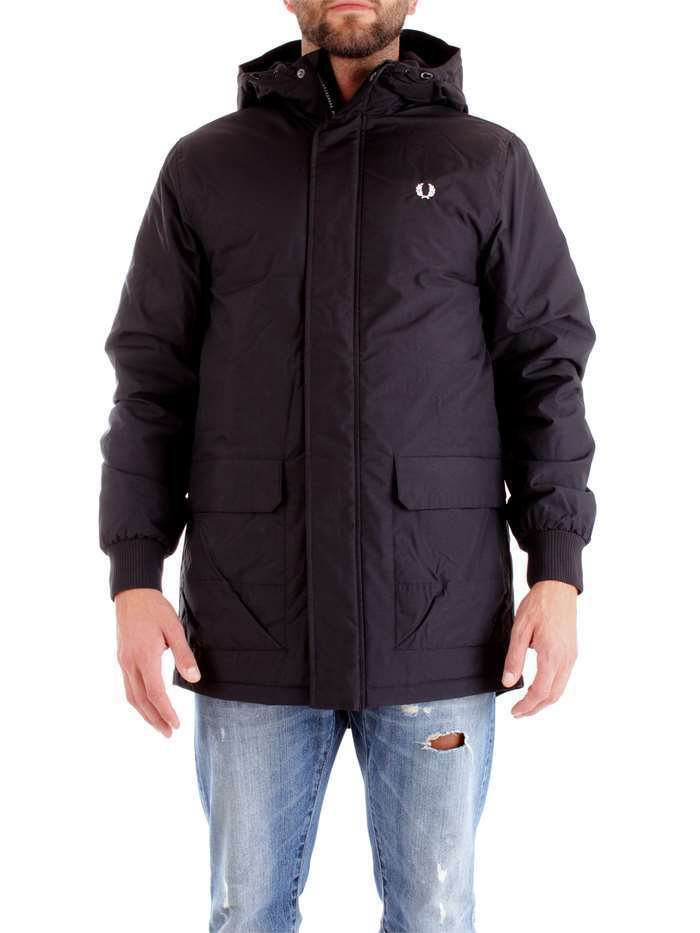 GIUBBINO GIUBBOTTO UOMO FRED PERRY ORIGINALE J4520 JACKET A/I 2018/19 NEW