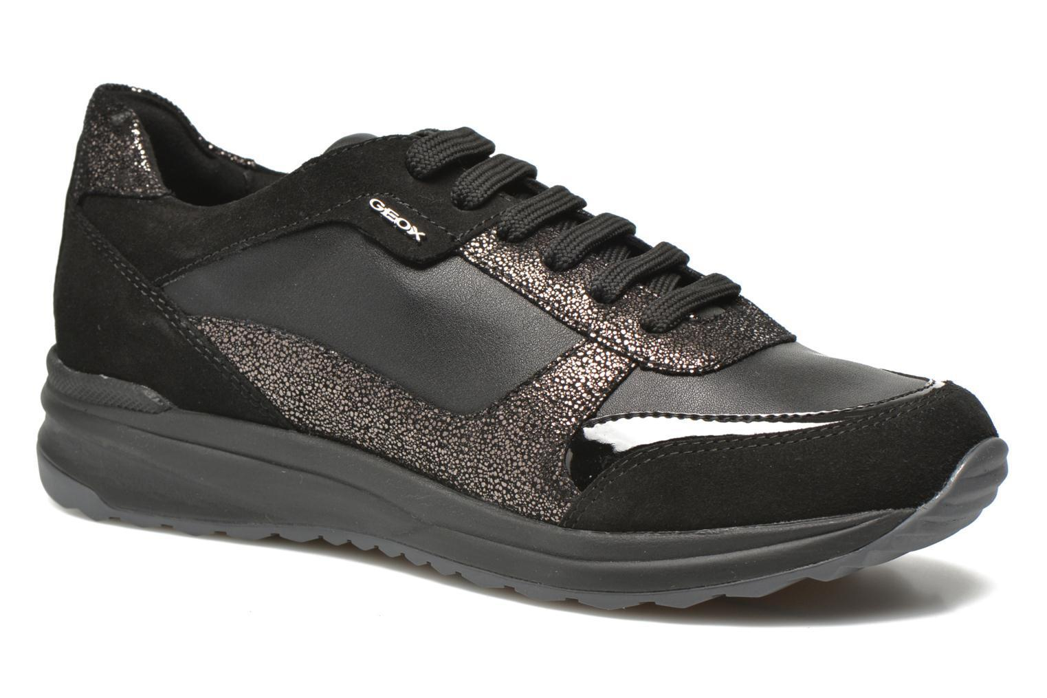 SCARPE SNEAKERS DONNA GEOX ORIGINALE AIRELL D6425C PELLE SHOES A/I 2016/17 NEW